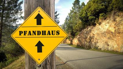 Schild 349 - Pfandhaus