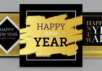 New Year Social Media Posts