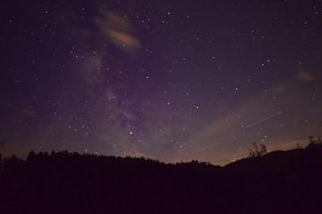 Unsere Galaxie in der Nacht