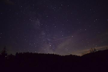 Nachthimmel im Schwarzwald