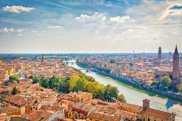 Panorama della città di Verona