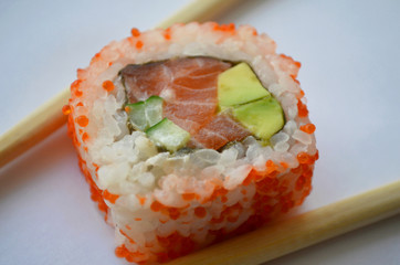 Image of sushi rolls