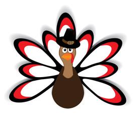 Vector Thansgiving Turkey