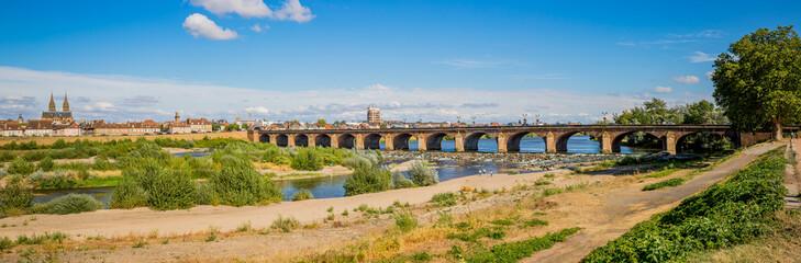 Panorama du Pont Régemortes à Moulins sur Allier