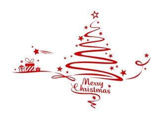 Christmas Tree an Bow
