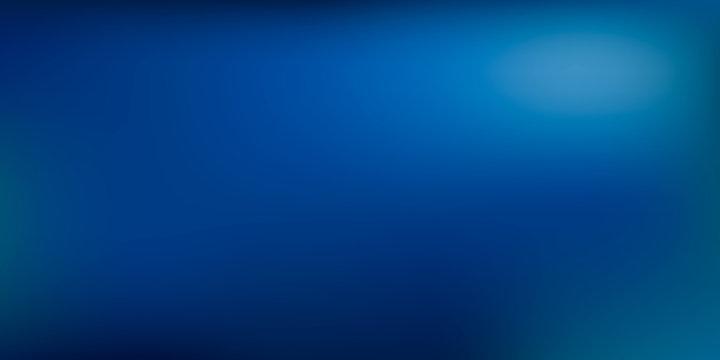 Blue gradient vector background.