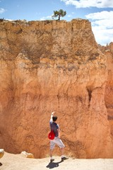 Hiker in Canyon