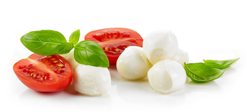 Mozzarella cheese balls