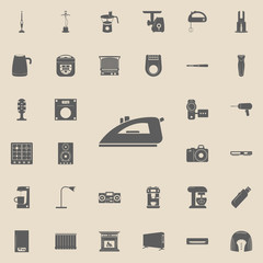 iron icon. Electro icons universal set for web and mobile
