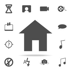 house icon. web icons universal set for web and mobile