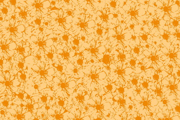 orange flower texture best wishes greeting card background concept of love, gift, event, occasion, celebration, weeding, birthday,