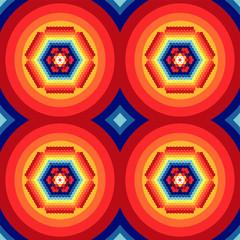 Floral - Circle Pattern