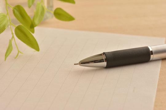 便箋 ペン