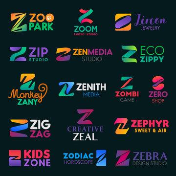 Company business identity Z letters