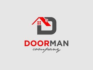 initial D real estate logo Designs Inspiration
