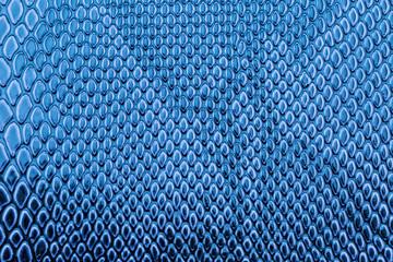 Blue exotic Snake skin pattern