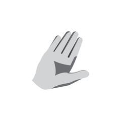 MTB gloves mockup
