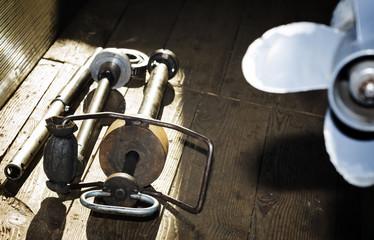 Gimbal bearing pulley