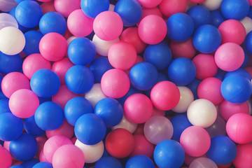 multi-colored plastic balls for children's pool