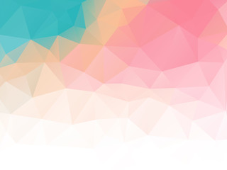 triangular abstract background pastel colored
