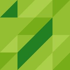 abstract green geometric seamless pattern