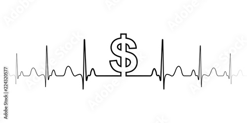 Sign symbol fluctuations in the exchange rate dollar vector