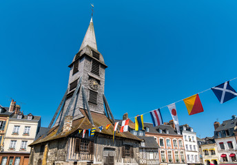 Saint Catherine church in Honfleur - Normandy, France