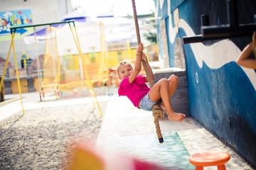 Fun in playground.