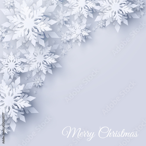 Vector Merry Christmas And Happy New Year Greeting Card Design With