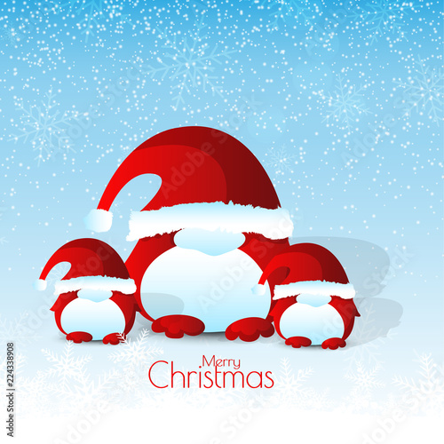 nice and beautiful abstract or poster for Merry Christmas with nice ...
