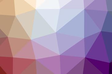 Illustration of Purple poligon nice multicolor background.