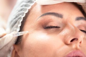 Enhancing facial skin beauty with botox