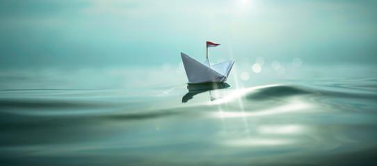 Paper Boat Panorama XXL
