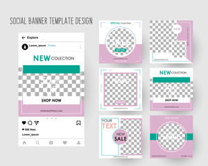 Editable Instagram Post template.  For Digital Marketing