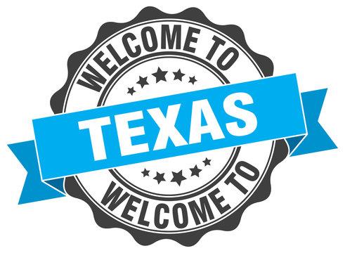 Texas round ribbon seal