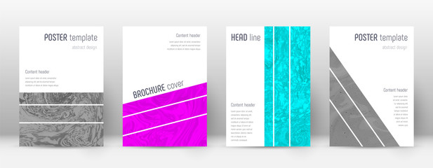 Abstract cover. Artistic design template. Suminaga