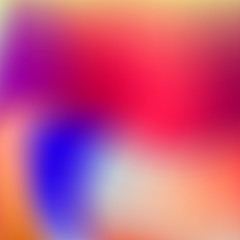 Vector illustration Smooth colorful background
