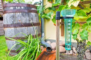 Regenmesser - Niederschlagsmesser - 5ml - HDR