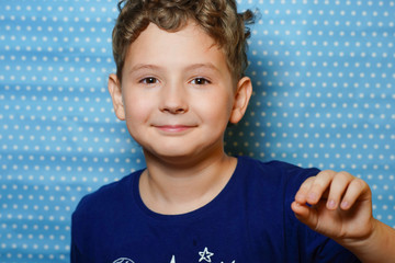 photo story about the boy who had the first baby tooth