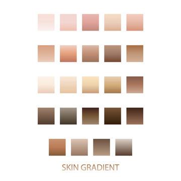 skin gradient