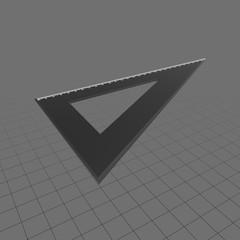 Triangle set square