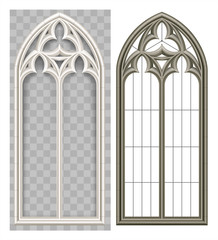 Medieval Gothic Lancet window