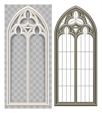 Medieval Gothic Lancet window
