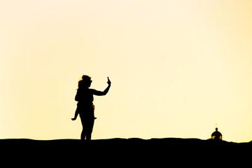 Gran Canary Mas Palomas Dunes Selfie