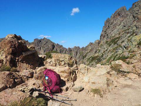 Wanderpause auf Korsika