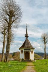 Kleine romantische Kapelle am Biggesee Biggetalsperre