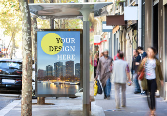 Outdoor Advertisement Mockup