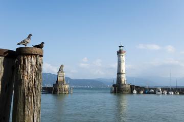 Lindau, Bodensee, Hafen