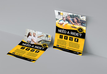 Taxi Flyer Layout