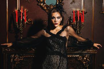 vampire beautiful lady